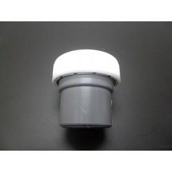 "ENLACE MIXTO PVC BLANCO/GRIS 40MM-11/2"""