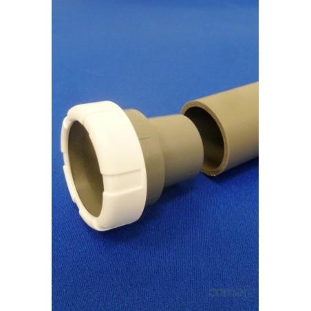 ENLACE MIXTO PVC BLANCO 40MM-11/2 - Imagen 1
