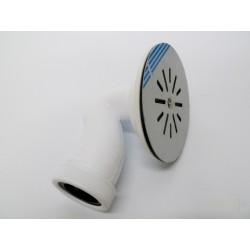 VALVULA PLATO DUCHA SIFONICA PVC/INOX BLANCO 115MM SANEAPL - Imagen 1