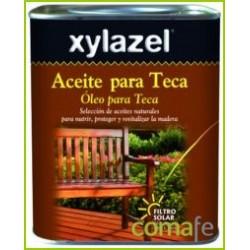 ACEITE PARA TECA INCOLORO 750ML 0630003 XYLAZEL - Imagen 1