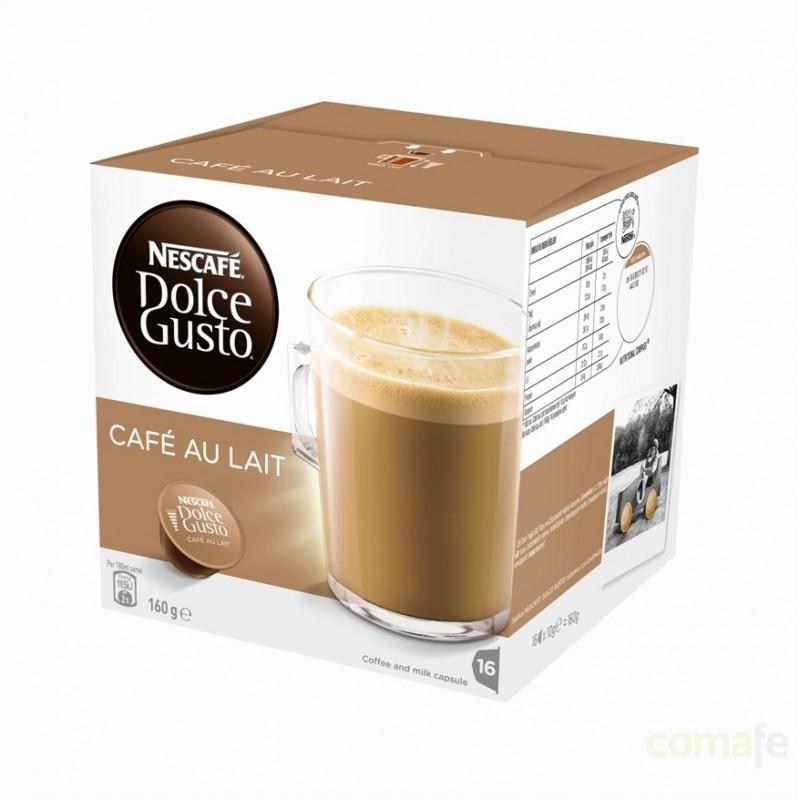 CAPSULA CAFE CON LECHE  NESCAFE DOLCE GUSTO 16PZ - Imagen 1