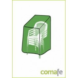 FUNDA CUBRE SILLA 66X66X109CM PVC VERDE TY911 - Imagen 1