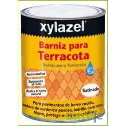 BARNIZ AL AGUA P/TERRACOTA SATINADO INCOLORO 750ML 0880103 - Imagen 1