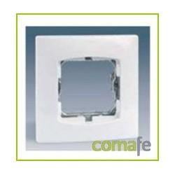 PLACA 1 ELEM. S/GARRAS S.27 BLANCO 27601-65 SIMON - Imagen 1