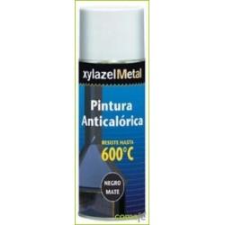 PINTURA ANTICALORICA HASTA 600:C NEGRA SPRAY 400ML 6070133 - Imagen 1