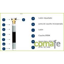 LATIGUILLO SANITARIO H3/8-H1/2 30CM MAX 110: 20BAR AENOR - Imagen 1
