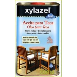 ACEITE PARA TECA AL AGUA TECA 750ML 1760703 XYLAZEL - Imagen 1