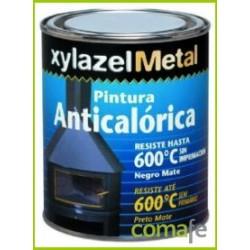 PINTURA ANTICALORICA HASTA 600:C NEGRA 750ML 6070103 - Imagen 1