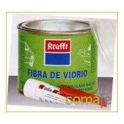 MASILLA P/REPARACION CARROCERIAS 250 ML FIBRA VIDRIO - Imagen 1