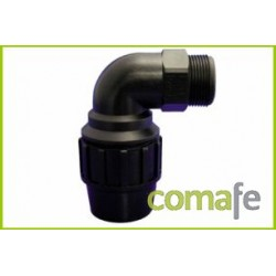 CODO 90º ROSCA MACHO Ø 50MM-1 1/2 PP FITTING