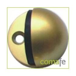 TOPE PUERTA LUX CON TORNILLO ORO - Imagen 1