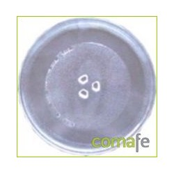 PLATO MICROONDAS CRISTAL DIAM.255MM TIPO DAEWOO - Imagen 1