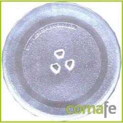 PLATO MICROONDAS CRISTAL DIAM.245MM TIP GOLDSTAR/LG C/ACOPLE - Imagen 1