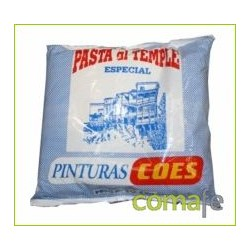 PINTURA AL TEMPLE BOLSA DE  2 KILOS PINTURAS COES - Imagen 1