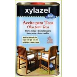 ACEITE PARA TECA AL AGUA INCOLORO 750ML XYLAZEL 1760103 - Imagen 1