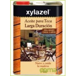 ACEITE PARA TECA LARGA DURACION TECA 5LT XYLAZEL 0630605 - Imagen 1