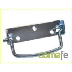 ASA ABATIBLE LISA 125X27 MM BICROMATADO - Imagen 1