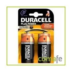 PILA DURACELL POWER PLUS D LR20 2KP - Imagen 1