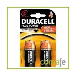 PILA DURACELL POWER PLUS C LR14 2KP - Imagen 1