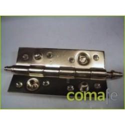BISAGRA 150X80 CROMO-ORO R-344 - Imagen 1