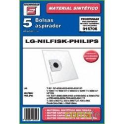 BOLSA ASPIRADOR LG-NILFISK-PHILIPS 915706 - Imagen 1