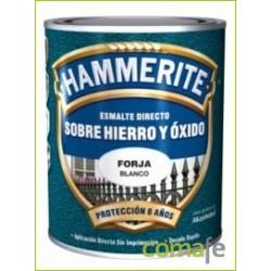 ESMALTE PARA METAL HAMMERITE FORJA NEGRO 750ML - Imagen 1
