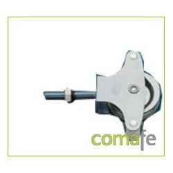 POLEA TENDER METALICA CON TUERCA N.3 - Imagen 1