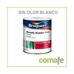 ESMALTE SINTETICO MATE BRUGEL SIN OLOR BLANCO 750 ML - Imagen 1