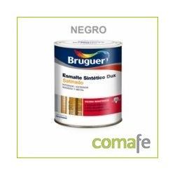 ESMALTE SINTETICO SATINADO BRUGUER DUX NEGRO 250ML - Imagen 1