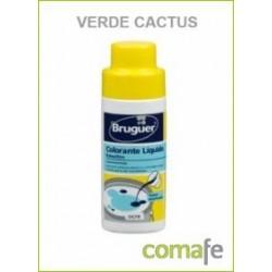 TINTE CONCENTRADO PINTURAS AL AGUA VERDE CACTUS 50ML EMULTIN - Imagen 1