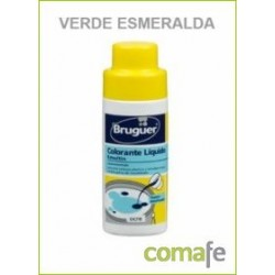 TINTE CONCENTRADO PINTURAS AL AGUA VERDE ESMERALDA 50ML EMUL - Imagen 1