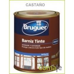 BARNIZ TINTE SINTETICO BRILLANTE CASTAÑO 750ML - Imagen 1