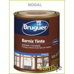 BARNIZ TINTE SINTETICO BRILLANTE NOGAL 750ML - Imagen 1
