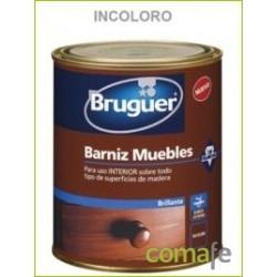 BARNIZ SINTETICO BRILLANTE MUEBLES INCOLORO 250ML - Imagen 1