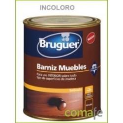 BARNIZ SINTETICO SATINADO MUEBLES INCOLORO 750 ML - Imagen 1