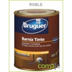 BARNIZ TINTE SINTETICO SATINADO ROBLE 750ML - Imagen 1
