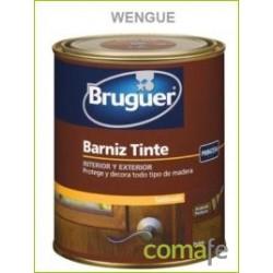 BARNIZ TINTE SINTETICO SATINADO WENGUE 750ML - Imagen 1