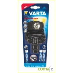 LINTERNA FRONTAL 1W 3AAA POWER LINE INDESTRUCTIBLE VARTA - Imagen 1