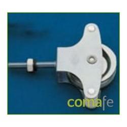 POLEA TENDER METAL CON TORNILLO N.12 - Imagen 1