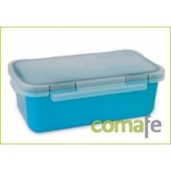 CONTENEDOR PORTA-ALIMENTO HERMETICO 0,75L AZUL 6090/66 - Imagen 1
