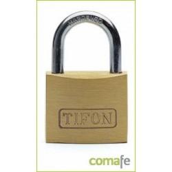 """CANDADO LATON """"TIFON"""" ARCO CORTO 25 MM - Imagen 1"""