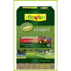 SEMILLAS CESPED UNIVERSAL 1 KG 1-10789 FLOWER - Imagen 1