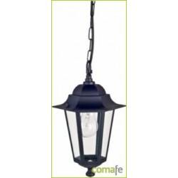 LAMPARA COLGANTE ORLANDO NEGRO E27 60W ILLUX1104Z - Imagen 1
