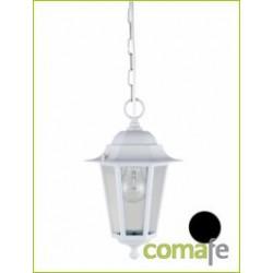 LAMPARA COLGANTE ORLANDO BLANCO E27 60W ILLUX1104W - Imagen 1