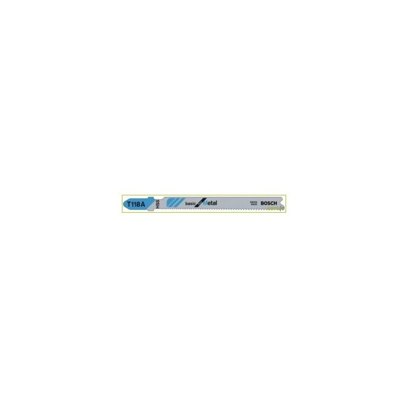 HOJA SIERRA CALAR METAL CHAPA 1-3MM 5PZ T118A 2608631013 - Imagen 1