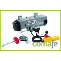 ELEVADOR ELECTRICO 980W 200/400 KG CABLE ACERO DE 18MT 01143 - Imagen 1
