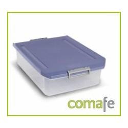 CAJA ORDENACION PLAST B.CAMA C/R 32LT 37X17,5X56,5 TRANSPARE - Imagen 1