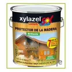 PROTECTOR LASUR PARA MADERA SATIN INCOLORO 2,5LT XYLAZEL SOL - Imagen 1