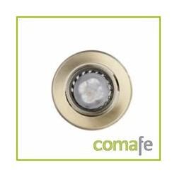 LED EMPOTRABLE BASCULANTE GU10 4W REDONDO BRONCE - Imagen 1