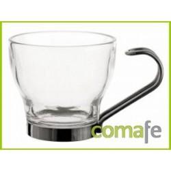 TAZA CAFE 10,8CL C/ASA INOX SUPREME 3UNDS - Imagen 1